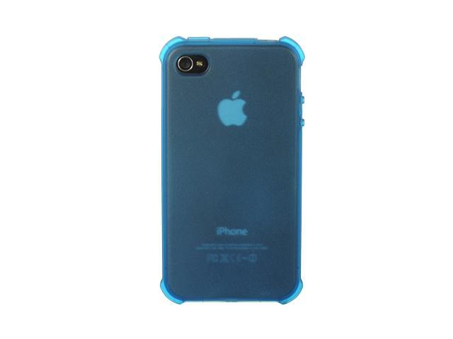 Apple iPhone 4S/iPhone 4 Blue Tinted Design Crystal Skin