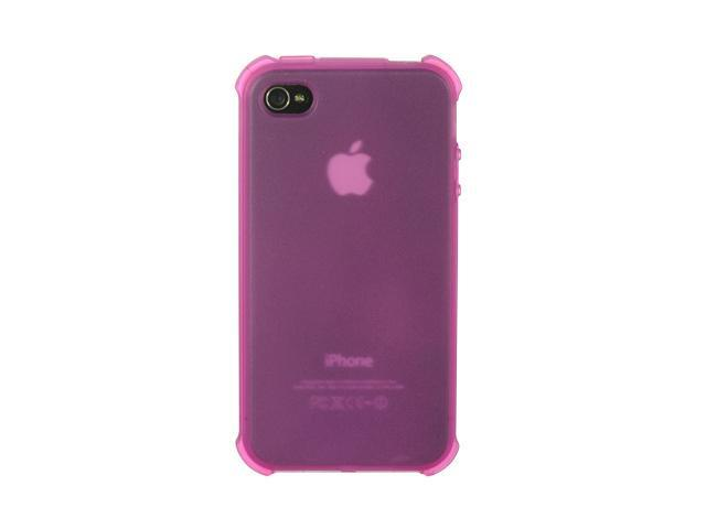 Apple iPhone 4S/iPhone 4 Hot Pink Tinted Design Crystal Skin