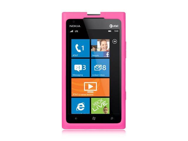 Luxmo Hot Pink Hot Pink Case & Covers Nokia Lumia 900