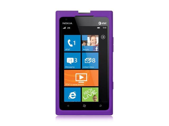 Luxmo Purple Purple Case & Covers Nokia Lumia 900