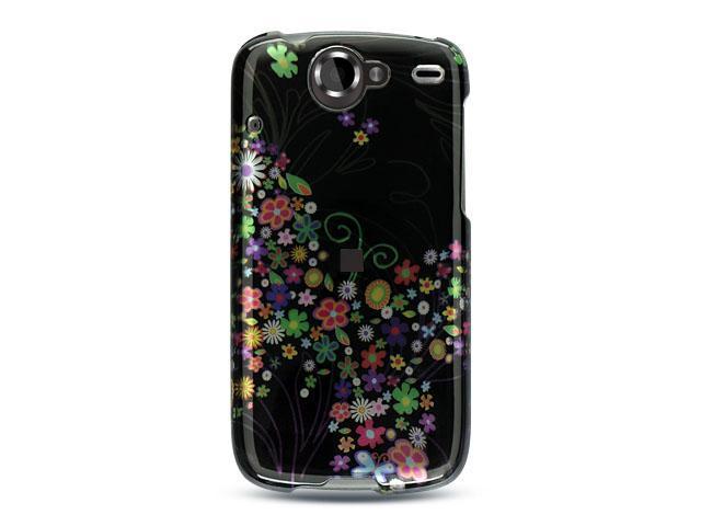 Luxmo Black Black with Rainbow Garden Design Case & Covers Google Nexus 1