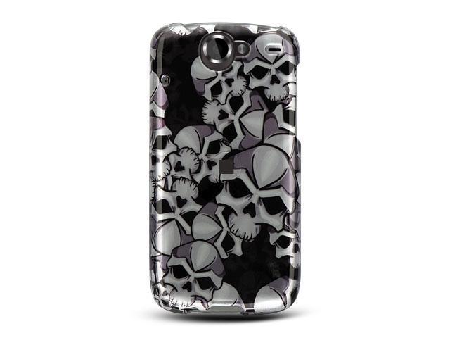 Luxmo Black Black Skull Design Case & Covers Google Nexus 1