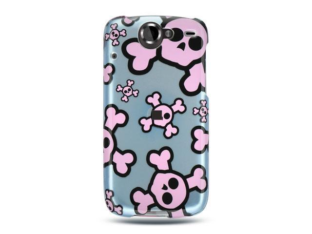 Luxmo Blue Blue with Pink Skull Design Case & Covers Google Nexus 1
