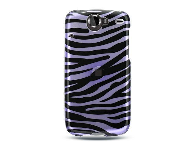 Luxmo Lavender Lavender with Black Zebra Design Case & Covers Google Nexus 1