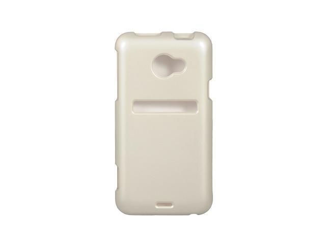 Luxmo White White Case & Covers HTC EVO 4G LTE