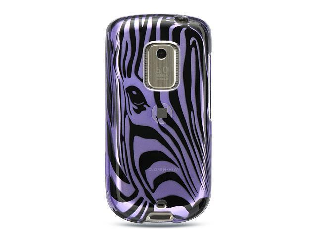 Luxmo Purple Purple Zebra Face Design Case & Covers HTC Hero