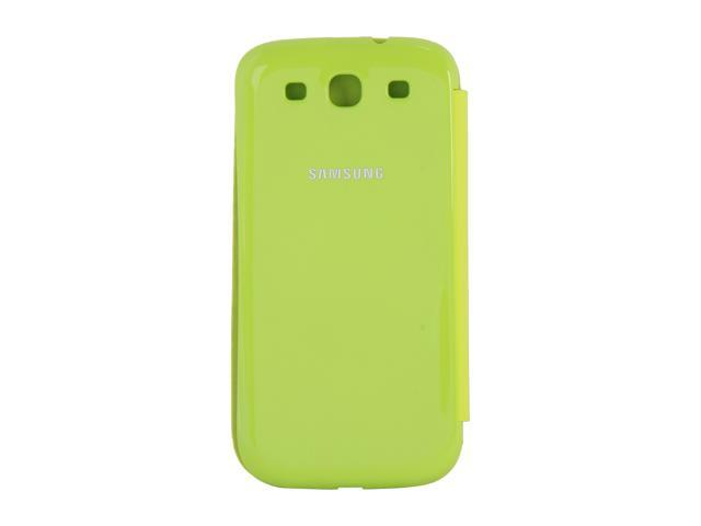 SAMSUNG Lime Green Flip Cover For Galaxy S III EFC-1G6FMEGSTA