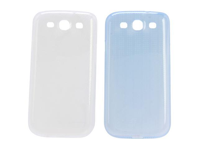 SAMSUNG Blue & White 2 Pack Slim Covers For Galaxy S III ETC-2PKSCEGSTA