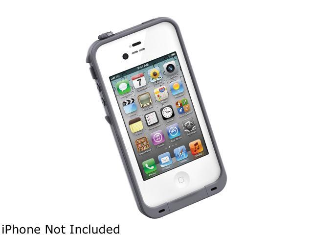 LifeProof White Solid Case for iPhone 4 / 4S                                                                              LPIPH4CS02WH
