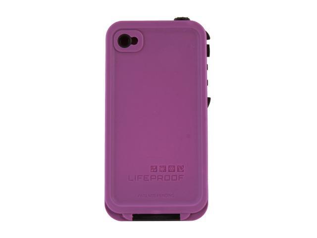 LifeProof Purple Solid Case for iPhone 4 / 4S LPIPH4CS02PL