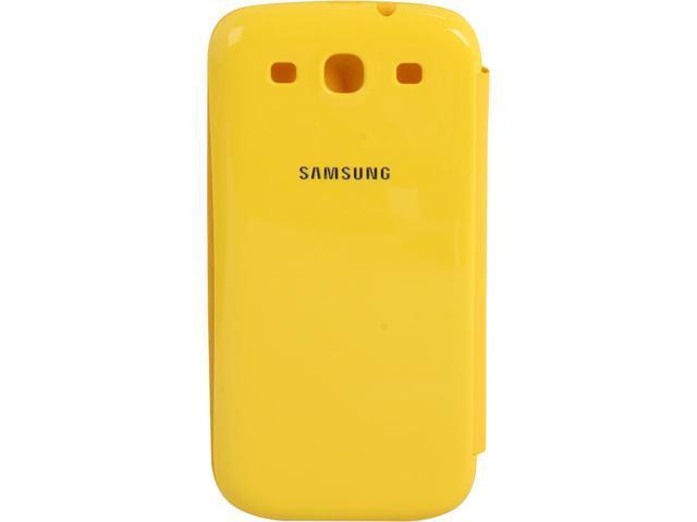 SAMSUNG Yellow Flip Cover For Galaxy S III EFC-1G6FYEGSTA