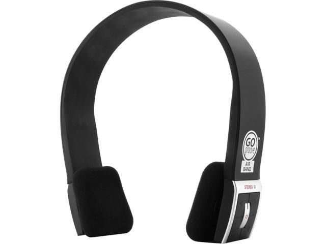 GOgroove AirBAND Bluetooth Over-Ear Headphones with Hands-Free Microphone and Onboard Controls - Works with Apple iPhone 6s , Samsung Galaxy S6 Edge , LG G4 and More Smartphones