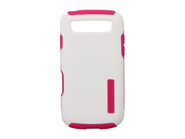 Incipio SILICRYLIC White / Pink Hard Shell Case w/ Silicone Core For Samsung Galaxy S Blaze 4G SA-257