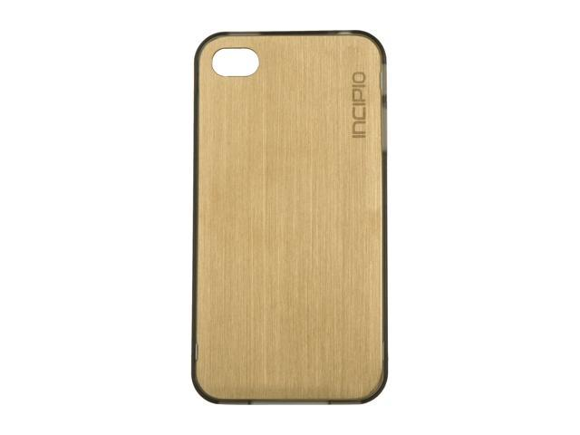 Incipio le deux Gold / Translucent Mercury Metal Case w/ Polycarbonate Frame For iPhone 4 / 4S IPH-683