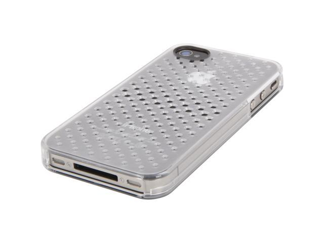 Griffin iClear Air Clear Case for iPhone 4/4s   Translucent perforated hard-shell case for iPhone 4