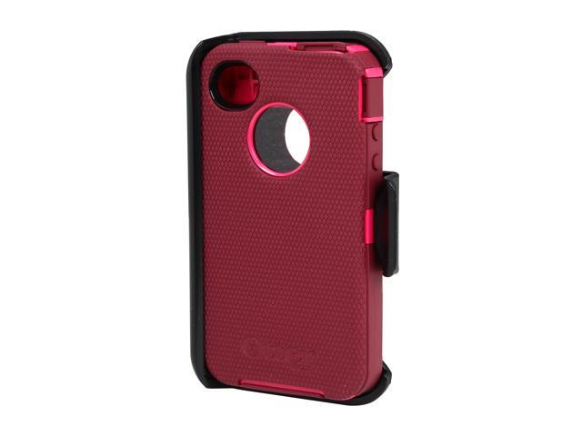 OtterBox Defender Peony Pink / Deep Plum Case For iPhone 4/4S 77-18587