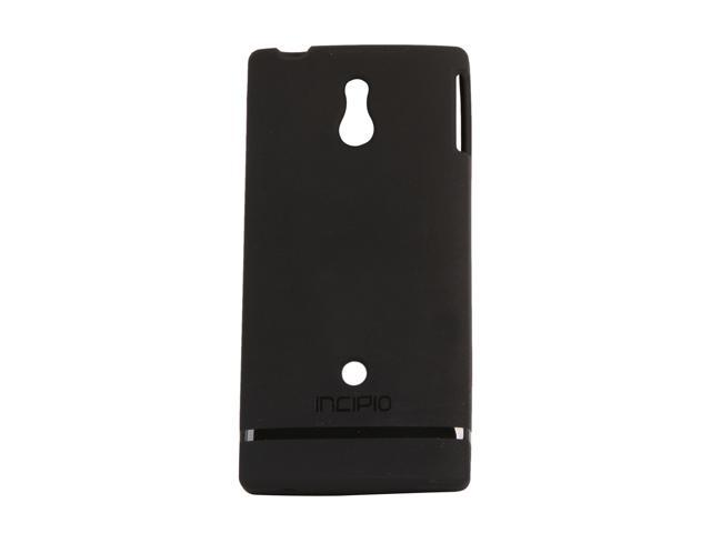 Incipio NGP Black Semi-Rigid Soft Shell Case For Sony Xperia P SE-130