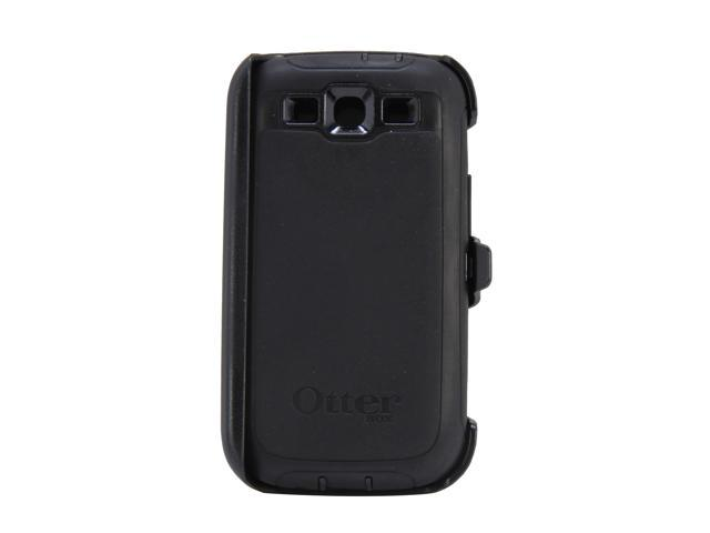 OtterBox Defender Black Solid Case For Samsung Galaxy S III 77-21086
