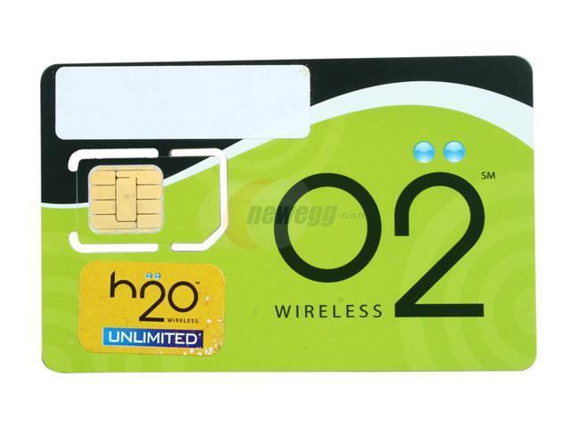 H2O Wireless Prepaid Unlimited Talk & Text Card O24999