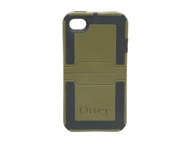 OtterBox Envy Plastic / Black Silicone Reflex Series Case For iPhone 4 (APL7-I4UNI-C8-E4OTR)