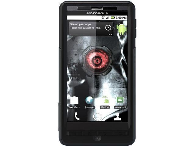 OtterBox Commuter Black Solid Case for Motorola DROID X2 MOT4-DRDX2-20-E4OTR