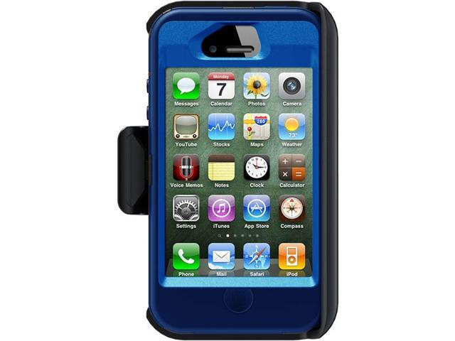 OtterBox Defender Ocean PC / Night Blue Slip Cover Defender Case For iPhone 4/4S APL2-I4SUN-E7-E4OTR