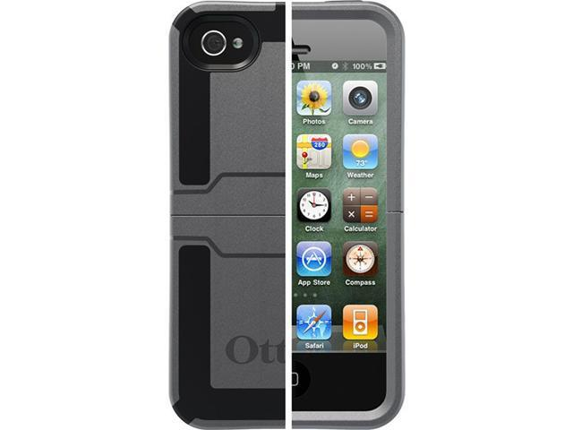 OtterBox Reflex Series Gunmetal Solid Case for iPhone 4/4S 77-18916