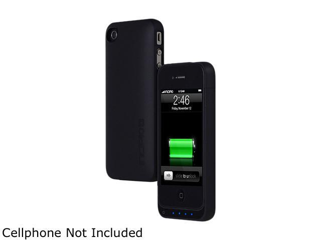 Incipio offGRID Stealth Matte Black 1450 mAh Thin Battery Case For iPhone 4/4S IPH-569