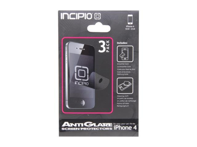 Incipio 3 Pack Anti-Glare Screen Protector For iPhone 4/4S CL-455