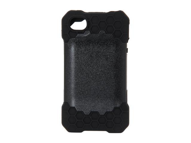Incipio HIVE RESPONSE Black Honeycomb Hard Shell Case w/ Silicone Core For iPhone 4 / 4S IPH-685