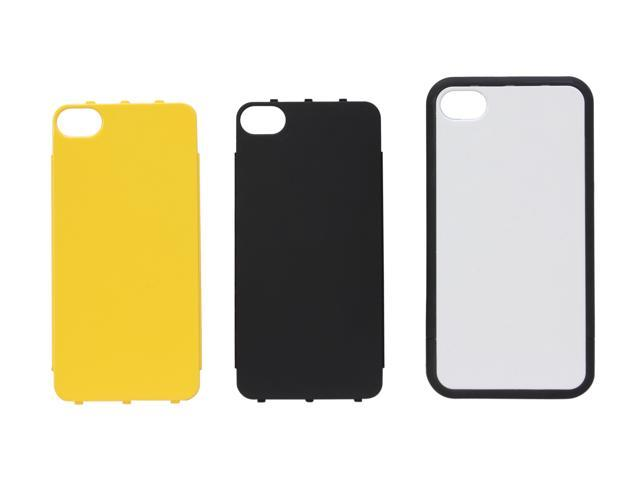 BodyGuardz Mykase Matte Black Cellphone Case Starter Kit for iPhone 4/4S BZ-MMBI4-1011