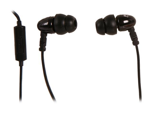 MEElectronics Black 3.5mm Stereo Headset for Cell Phones N8P