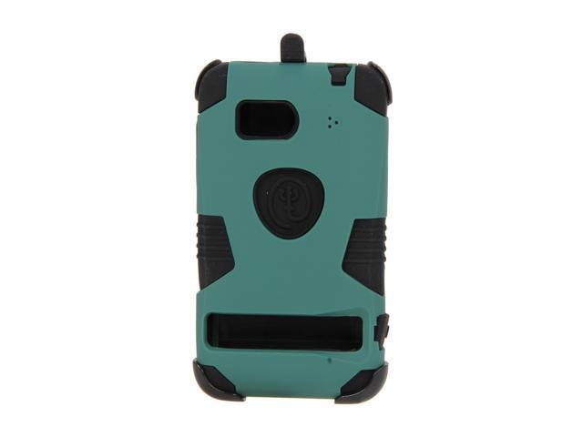 Trident Ballistic Green Kraken Case w/ Kickstand & Holster for HTC Thunderbolt KKN2-THDB-BG