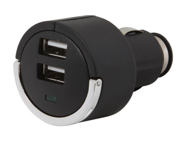Aluratek AUCC02F Dual USB 2.1A Car Charger for iPad / Tablet / Smartphone