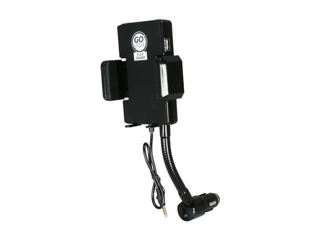 Accessory Power FM Transmitter & Car Charger Mount for SmartPhones GG-FLEX-SMART
