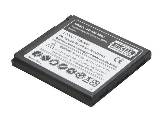 Accessory Power truCELL truCELL Smart Phone Battery For Motorola SB-MO-BP6X