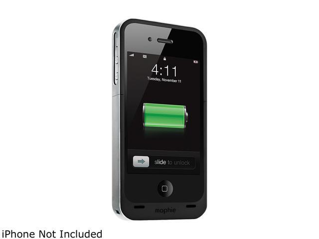 mophie Black Juice Pack Air for iPhone 4 (1145_JPAXP4)