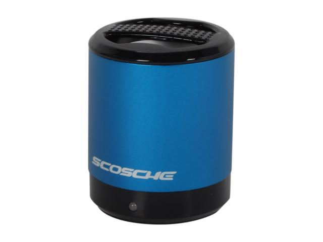 SCOSCHE Blue boomCAN Portable Media Speaker PMSBL