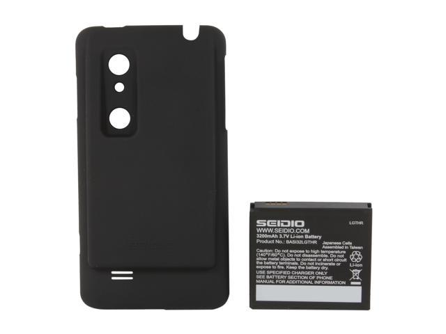 Seidio Black Innocell 3200mAh Extended Battery For LG Thrill 4G BACY32LGTHR-BK