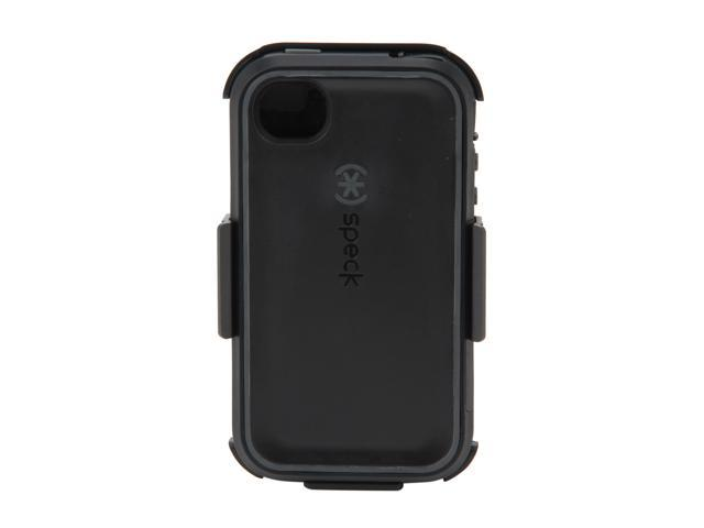 Speck Products MightyVault Black / Dark Gray MHybrid Case & Holster for iPhone 4 & 4S SPK-A0811