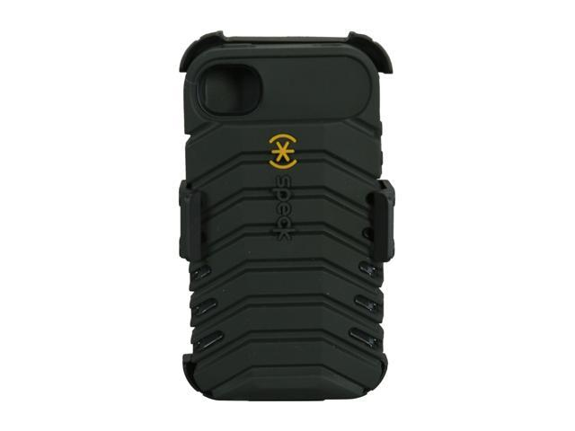 Speck Products ToughSkin Black Solid Case for iPhone 4/4S SPK-A0815