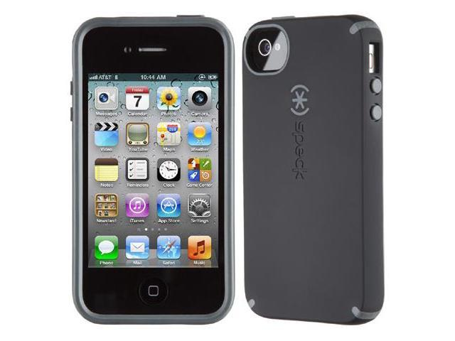Speck Products CandyShell Satin Black / Dark Gray Solid Case for iPhone 4 / 4S SPK-A0808