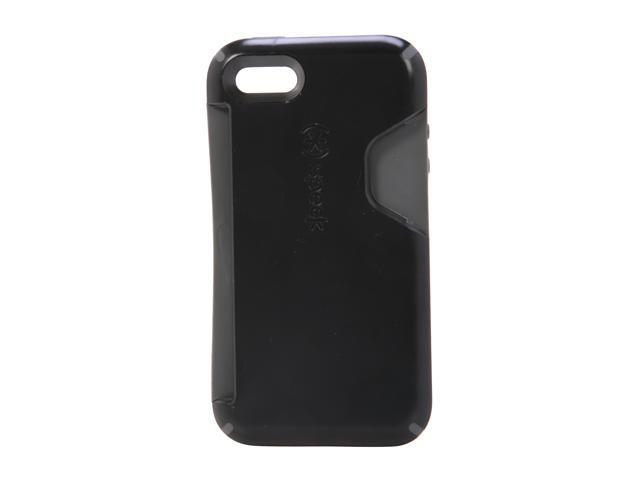 Speck Products Black / Dark Gray CandyShell Card Rubberized Hard Case for iPhone 4 & 4S SPK-A0804