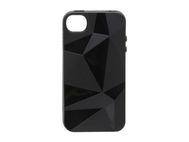 Speck Products GeoSkin Black Solid Case for iPhone 4 / 4S SPK-A0816