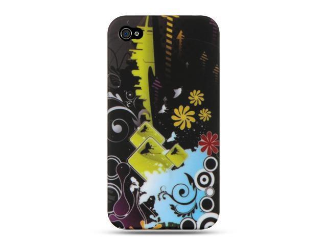 Luxmo Black Black Urban Design Case & Covers Apple iPhone 4S/iPhone 4