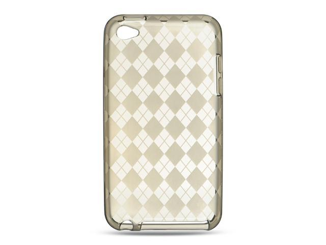 Apple iPod Touch 4 Smoke Checker Design Crystal Skin