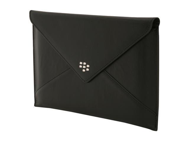 BlackBerry Black Leather Envelope for PlayBook (ACC-39317-301)