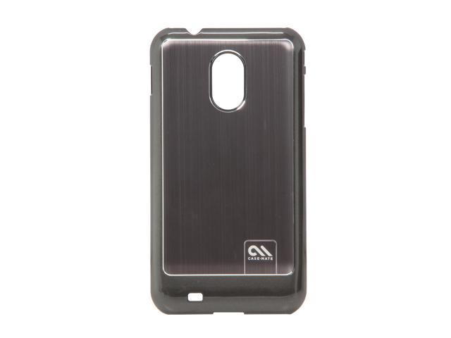 Case-Mate Silver Brushed Aluminum Barely There Sporty Cases for Samsung Galaxy Epic Touch 4G CM016997