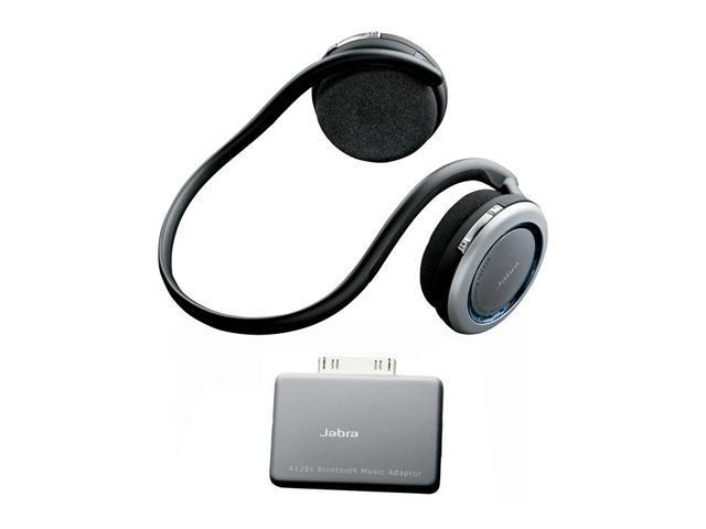 Jabra BT620s + A125s Bluetooth Stereo Headset Bundled with iPod Bluetooth Adapater