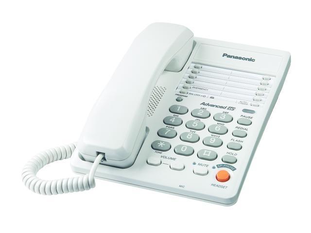 Panasonic KX-TS105W 1-line Operation Corded Phone
